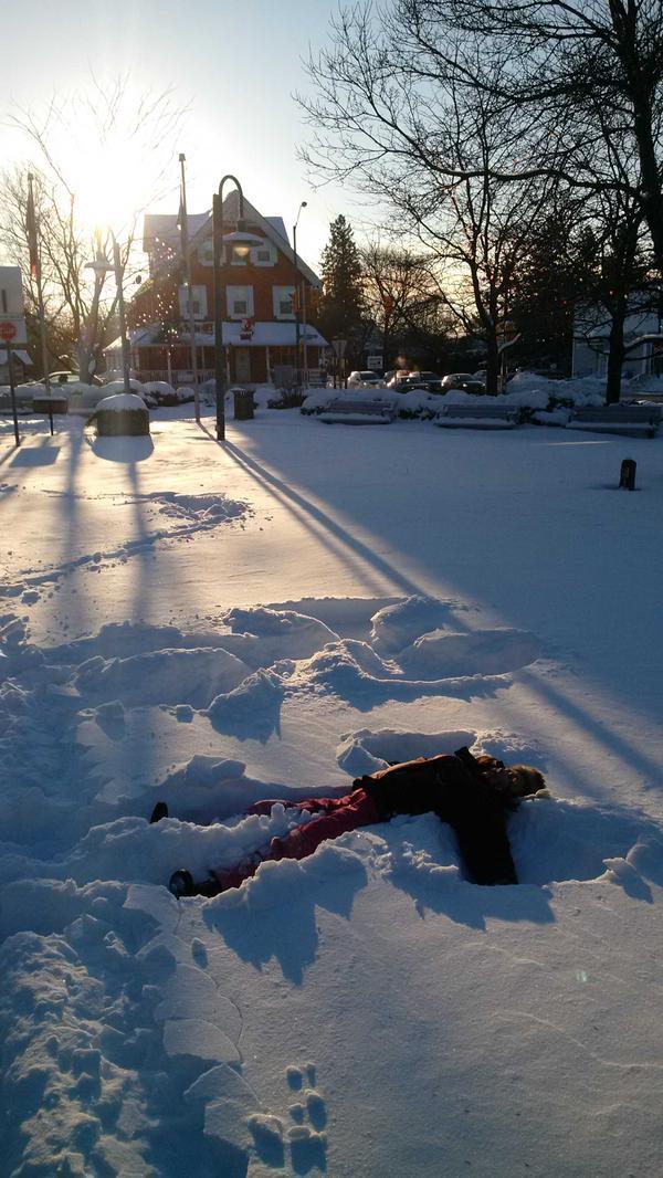 Snow Angel / Photo by Trevor Eggleton