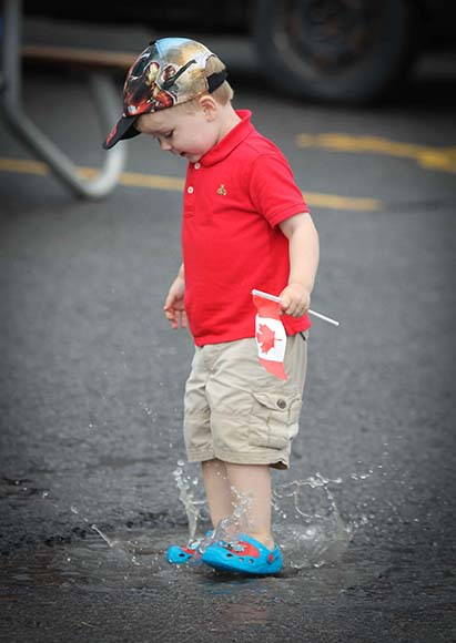 Canada Day in Stittsville / Photo by Barry Gray