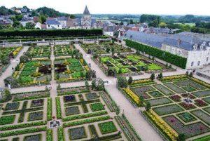 Example of a potager garden