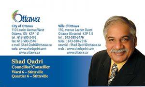 Councillor Shad Qadri