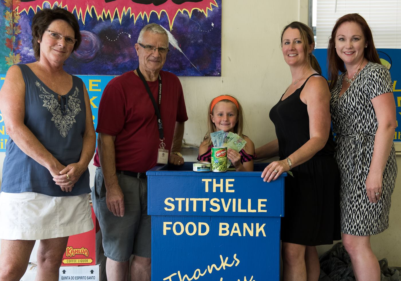 Shauna Brownlee-Starr from Shauna Brownlee Starr - Property Friends - Real Estate and SVA board member Sarah Rozema-Seaton from Big Red Bow Digital Marketing stopped by the Stittsville Food Bank to deliver the donations from the Cinema Under the Stars event. The event raised $555 for our local food bank. Thank you to everyone who attended and gave so generously to our community. Together we make a big difference!